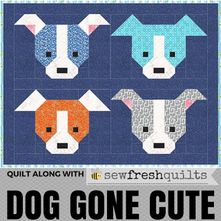 Dog Gone Cute Quilt Along
